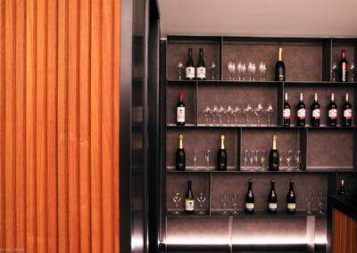 The room lier: verzorgde bar bijhorend bij de feestzalen