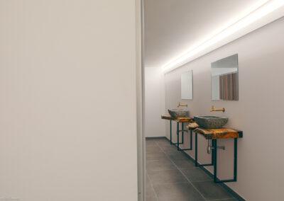 The room lier: faciliteiten bijhorend bij de twee feestzalen